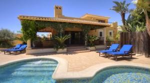 Luxusní vily přímo u golfového hřiště, Almería