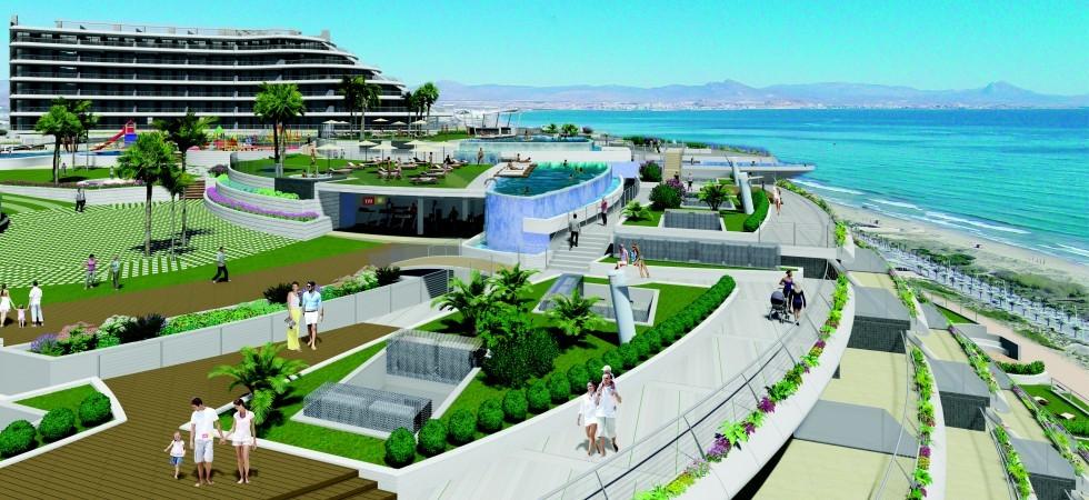 Nový apartmánový komplex v první linii u moře
