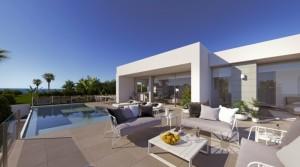 Luxusní vila s vlastním bazénem a výhledem na moře