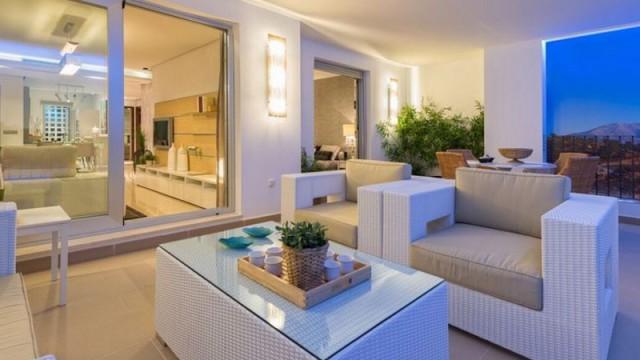 Moderní apartmány v krásné přírodě na Costa del Sol, Španělsko