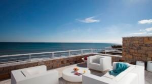 Apartmány v první linii u moře s přímým přístupem na pláž