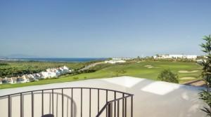 Apartmány a řadové domy u moře a golfu na pobřeží Španělska