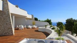 Nádherné apartmány s úžasným výhledem na moře v Altee