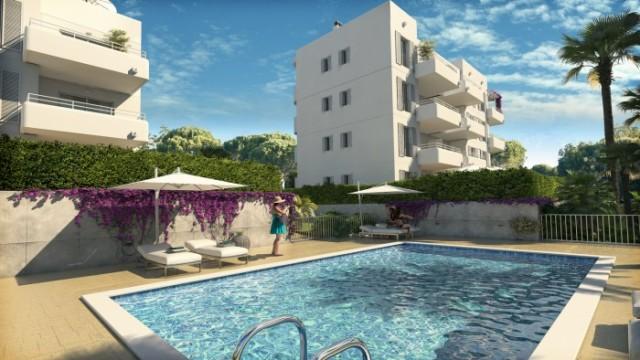 Moderní apartmány se zahradou a terasami v oblíbeném letovisku