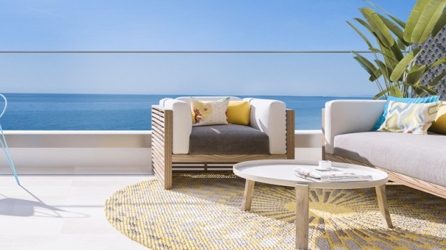 Nové apartmány pouze 50 metrů od pláže