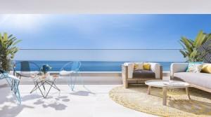 Nové apartmány jen 50 metrů od pláže na pobřeží Costa del Sol