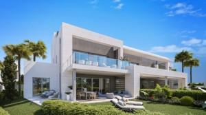 Luxusní řadové domy u golfového hřiště ve vyhledávané čtvrti Marbelly