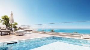 Exkluzivní residence v 1. linii u písečné pláže v dosahu Málagy