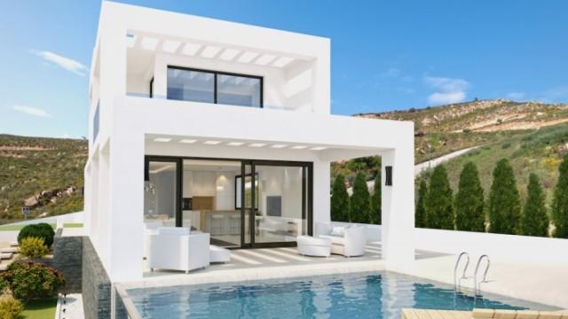 Luxusní dvojdomek s bazénem s nádherným výhledem na moře