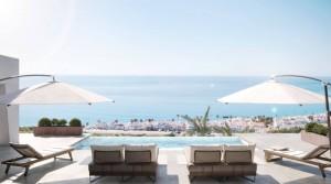 Luxusní vily s hypnotizujícím výhledem na moře