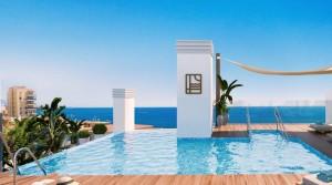 Moderní apartmány v centru Estepony jen pár metrů od pláže